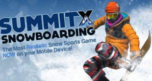SummitX Snowboarding - крутой сноубординг для Android